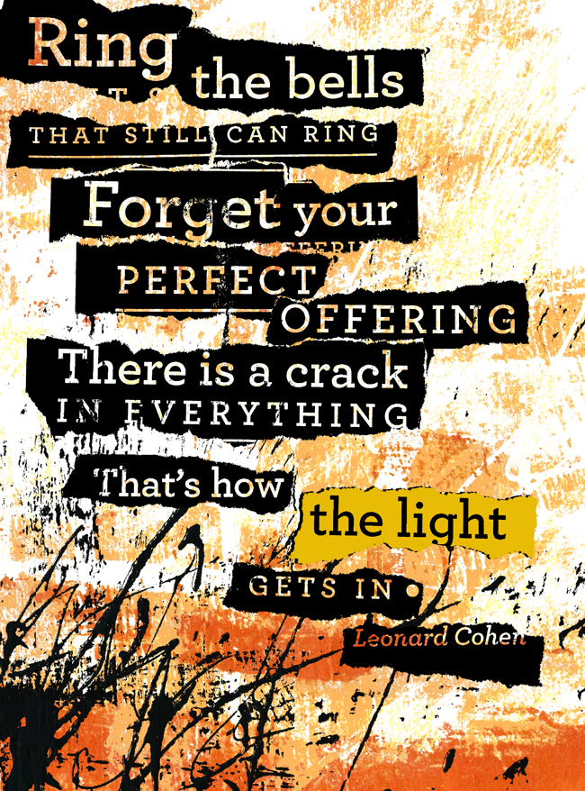 """""""Forget Your Perfect Offering"""""""